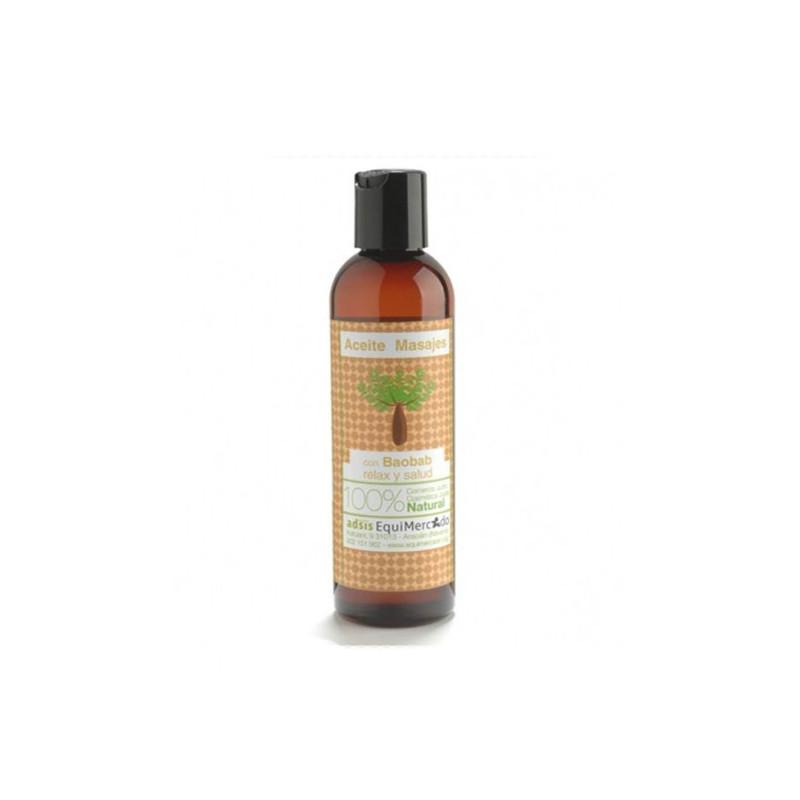 Aceite de masajes de baobab