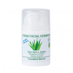 Crema facial Aloe Vera, especial para hombres-50ml