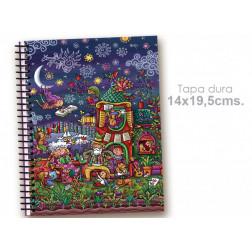 """Cuaderno 14*19.5 """"Casa de poetas"""""""