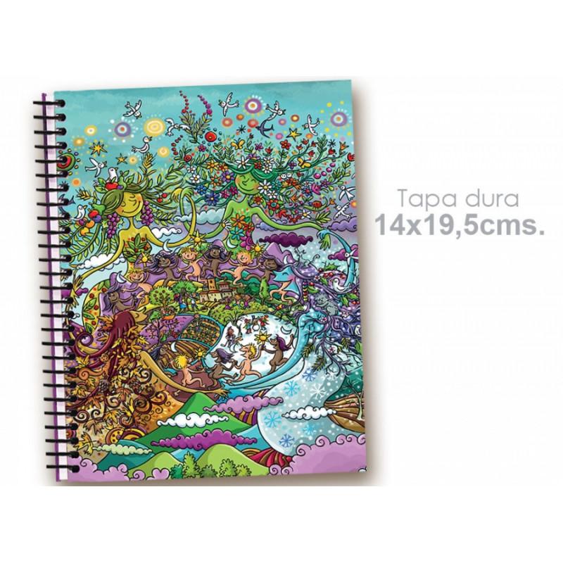 """Cuaderno 14*19.5 """"Estaciones"""""""