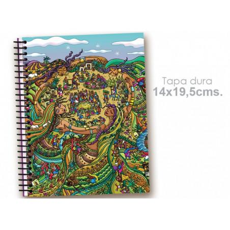 """Cuaderno 14*19.5 """"Mujeres cooperativas"""""""