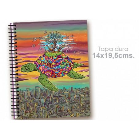 """Cuaderno 14*19.5 """"El tiempo se para/Tortuga"""""""