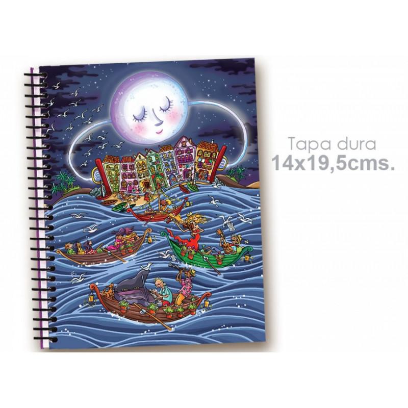 """Cuaderno 14*19.5 """"Al son de las olas"""""""