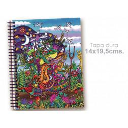 "Cuaderno 14*19.5 ""Mujer que camina"""
