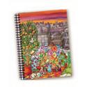 Libreta 10*14cm Colores en la ciudad