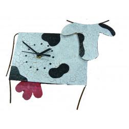 Reloj de pared, vaca