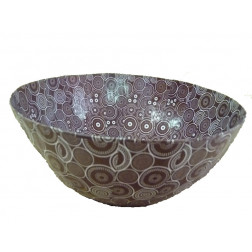 Bowl papel maché