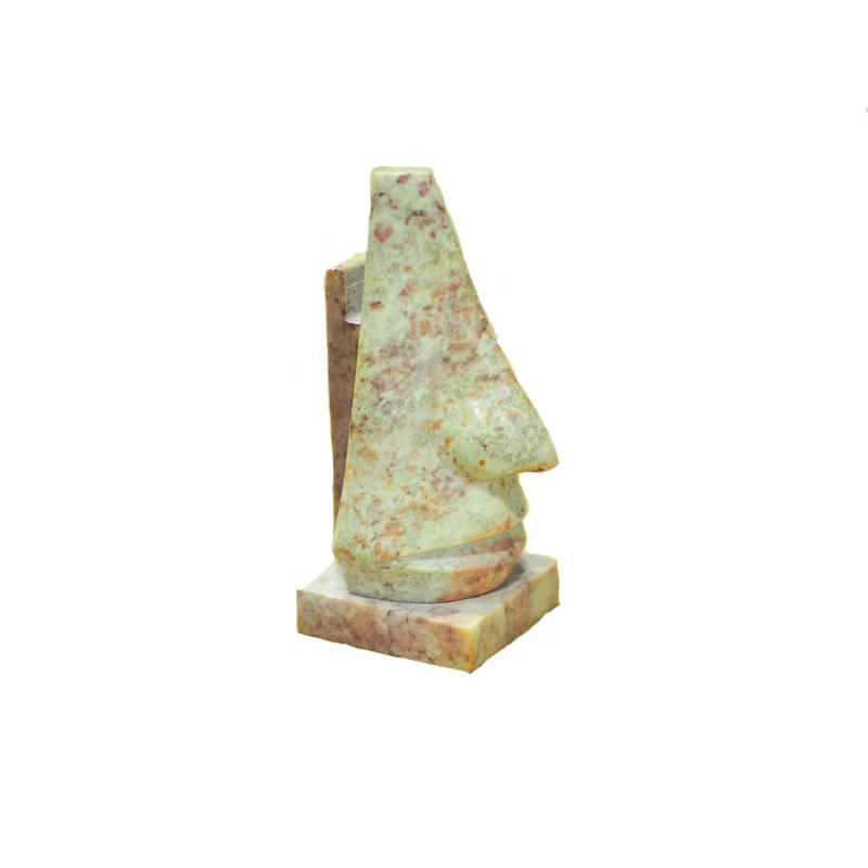 Sujetagafas en piedra jabonosa - 20cm