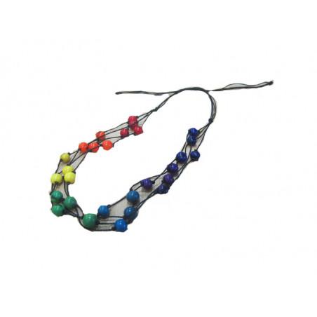 Collar arco iris