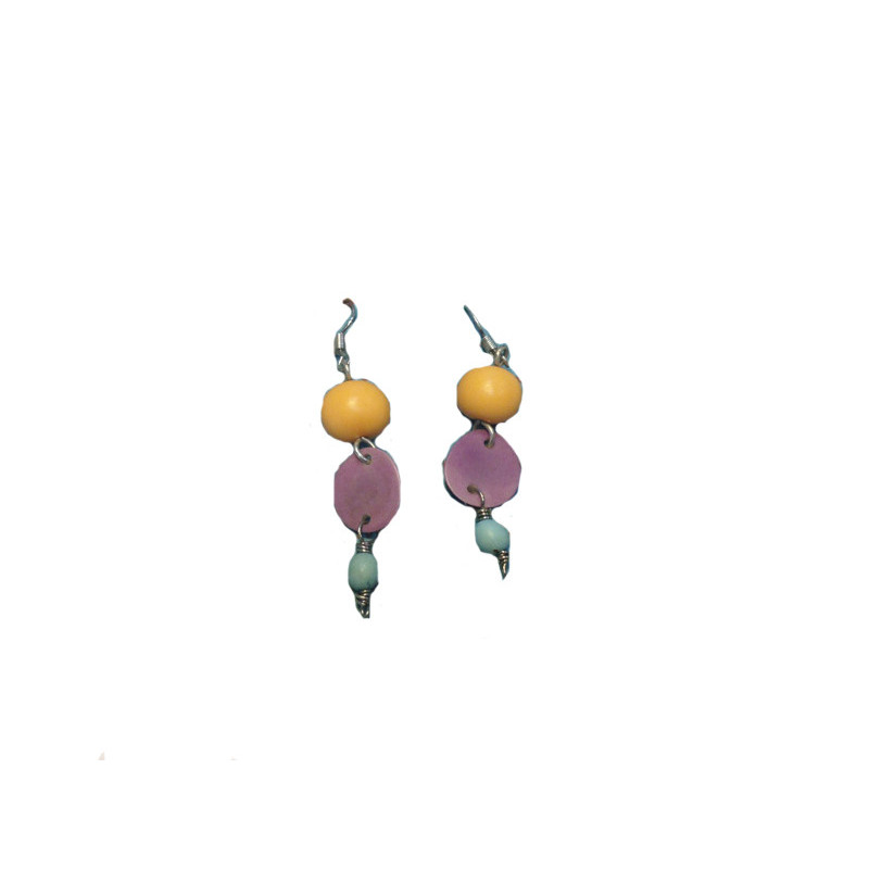 Pendientes Acai y Chirilla 5cm, 3 colores