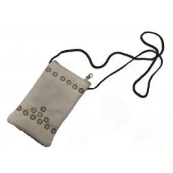 Fundita/portamonedas/tarjeta piel Badana, 15*8cm