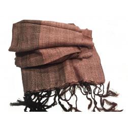 Pañuelo rosado algodón 48*180cm