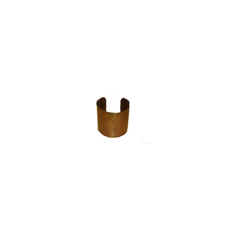 Brazalete dorado ajustable, diam 6.5cm