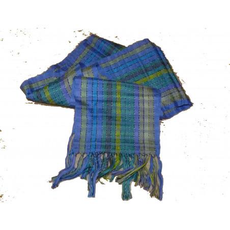 Pañuelo estrechito algodón de rayas