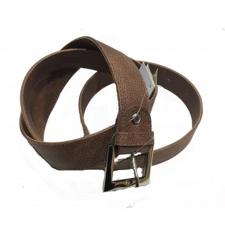 Cinturón piel marrón (95cm)