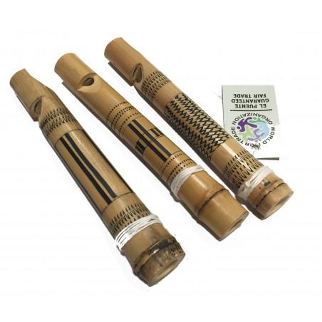 Mini flauta L. 15cm