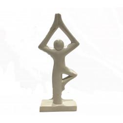 Estatuilla yoga h. 16,5cm