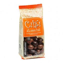 Ciki con cacahuetes envueltos en chocolate - 100 g
