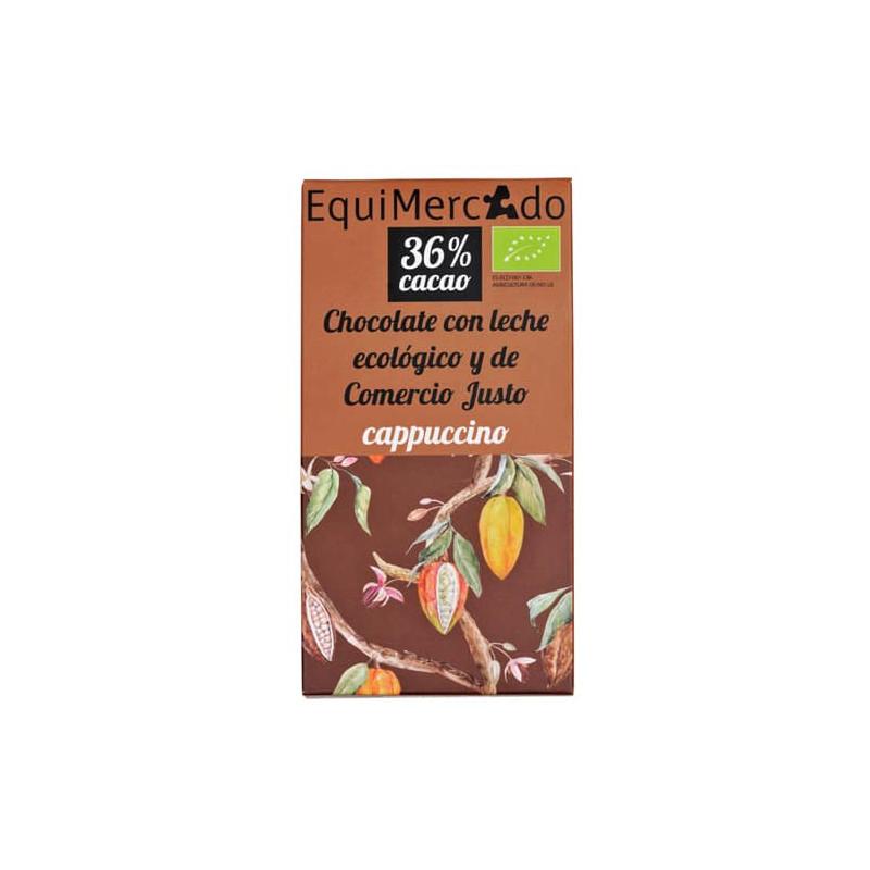 Chocolate de leche al cappuccino - 80g