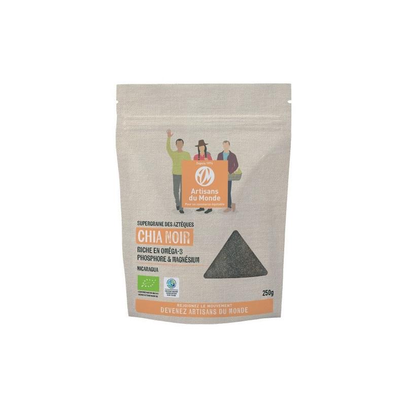 Semillas de Chia negra BIO - 250g