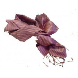 Pañuelo seda rojo