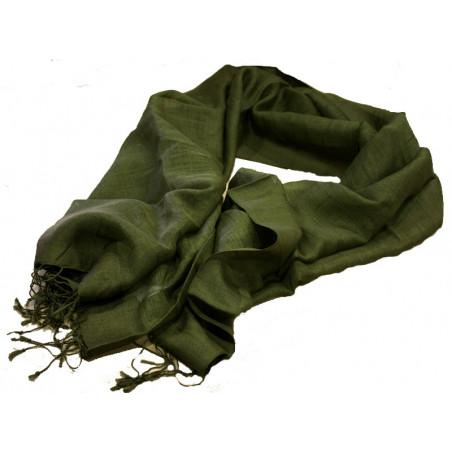 Foulard Damara verde 50*180 cm