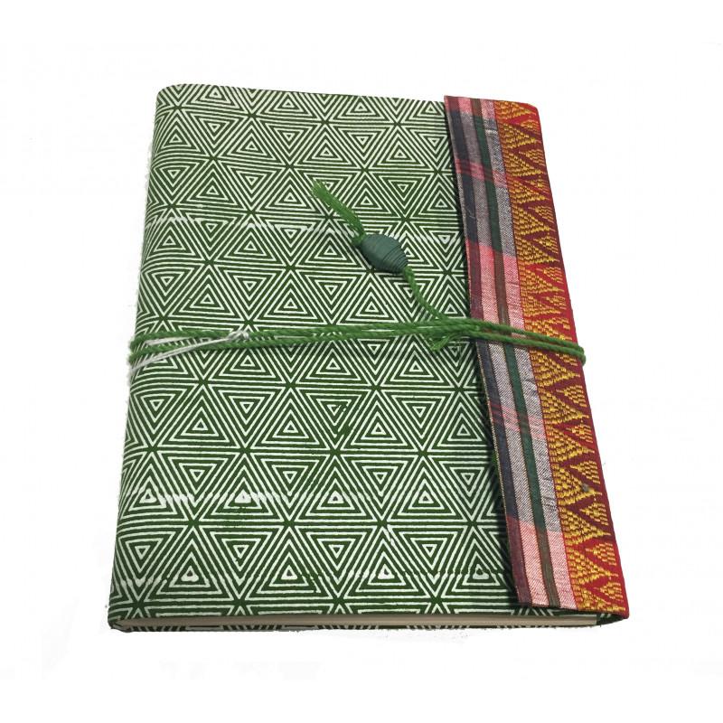 Cuaderno materiales reciclados 15*21cm