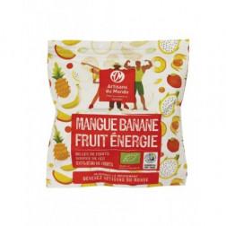 Bocaditos de mango y plátano BIO - 25g