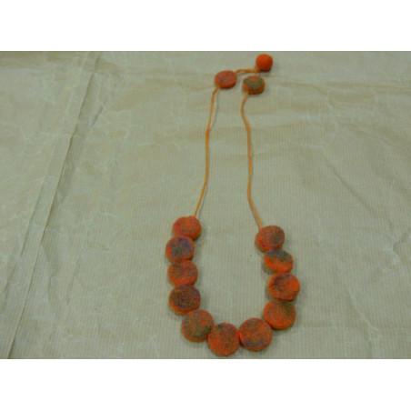 Collar de fieltro (colores variados)