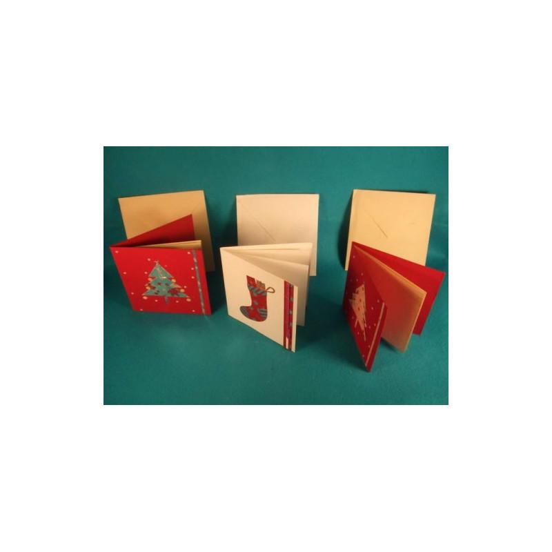 Surtido tarjetas de navidad