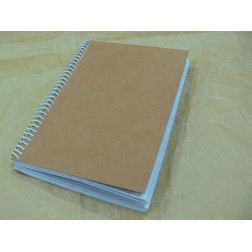 Cuaderno de papel reciclado