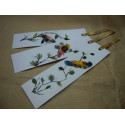 Separadores de Hojas de Libro (plumas)