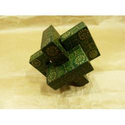Puzzle teka dis batik rojo flor