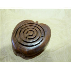 Juego madera sésamo forma manzana