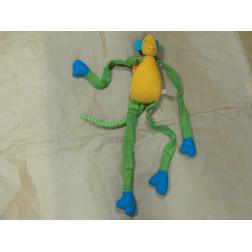 Mono algodón con brazos flexibles